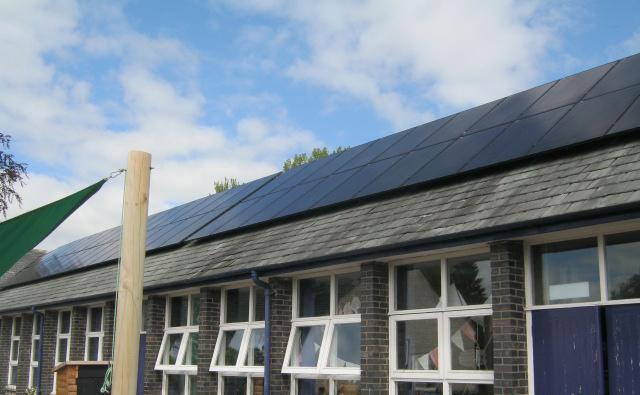 EPC – PV array Ghyllside School, Kendal