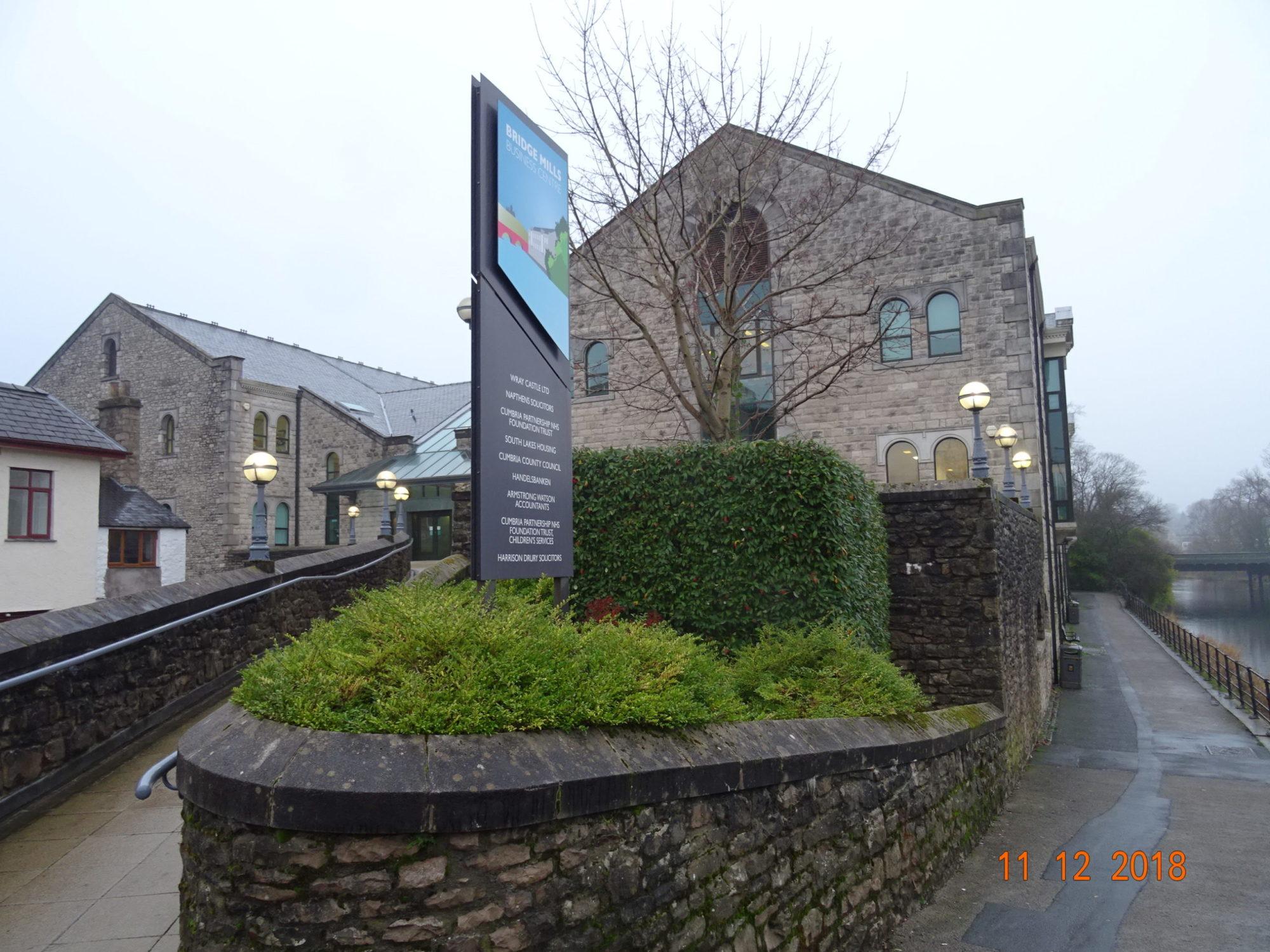 Bridge Mills, Kendal – TM44 level 4 assessment